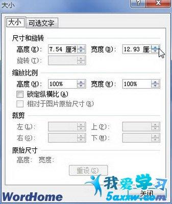 word2007中smartart图形大小的设置